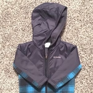 Columbia 12-18 months boys fleece jacket